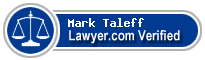 Mark A Taleff  Lawyer Badge