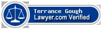Terrance P Gough  Lawyer Badge