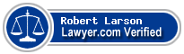 Robert J Larson  Lawyer Badge