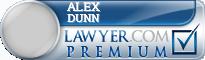 Alex C Dunn  Lawyer Badge