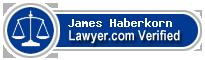 James Edward Haberkorn  Lawyer Badge