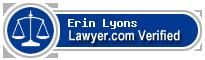 Erin Patrick Lyons  Lawyer Badge
