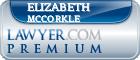 Elizabeth Sue Mccorkle  Lawyer Badge