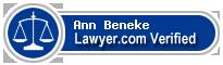 Ann Elizabeth Beneke  Lawyer Badge