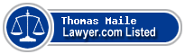 Thomas Maile Lawyer Badge