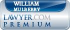 William Harvey Mulberry  Lawyer Badge