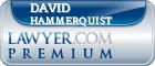 David Hammerquist  Lawyer Badge