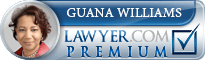 Guana E. Williams  Lawyer Badge