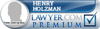 Henry Holzman  Lawyer Badge
