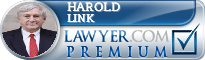 Harold Stanley Link  Lawyer Badge