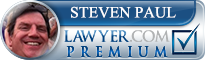 Steven Paul  Lawyer Badge