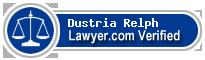 Dustria Ann Relph  Lawyer Badge