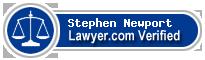 Stephen Warren Newport  Lawyer Badge