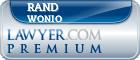 Rand Steven Wonio  Lawyer Badge