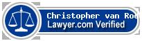 Christopher R van Roden  Lawyer Badge