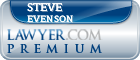 Steve E. Evenson  Lawyer Badge