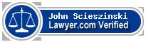 John Joseph Scieszinski  Lawyer Badge