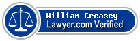 William Franklin Creasey  Lawyer Badge