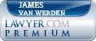 James E. Van Werden  Lawyer Badge