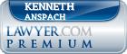 Kenneth Gordon Anspach  Lawyer Badge