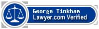 George Warren Tinkham  Lawyer Badge