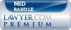 Ned William Randle  Lawyer Badge