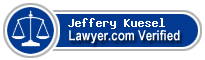 Jeffery T. Kuesel  Lawyer Badge
