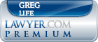 Greg A. Life  Lawyer Badge