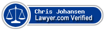 Chris A. Johansen  Lawyer Badge