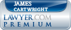 James R Cartwright  Lawyer Badge