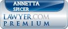Annetta L Spicer  Lawyer Badge