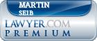 Martin Allen Seib  Lawyer Badge