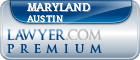 Maryland Lewis Austin  Lawyer Badge