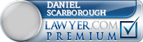Daniel C Scarborough  Lawyer Badge