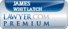 James Lowell Whitlatch  Lawyer Badge