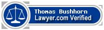Thomas Donald Bushhorn  Lawyer Badge