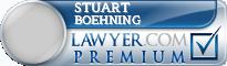 Stuart Philip Boehning  Lawyer Badge
