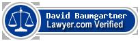 David Neal Baumgartner  Lawyer Badge