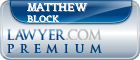Matthew Ferdinand Block  Lawyer Badge