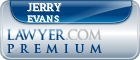 Jerry A Evans  Lawyer Badge