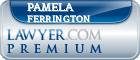 Pamela Anders Ferrington  Lawyer Badge