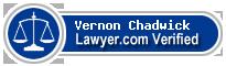 Vernon H Chadwick  Lawyer Badge