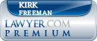 Kirk Stephenson Freeman  Lawyer Badge