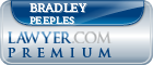 Bradley S Peeples  Lawyer Badge