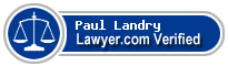 Paul T Landry  Lawyer Badge