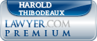 Harold L Thibodeaux  Lawyer Badge