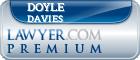 Doyle J. Davies  Lawyer Badge