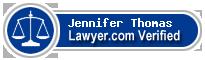 Jennifer Jones Thomas  Lawyer Badge