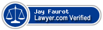 Jay L. Faurot  Lawyer Badge