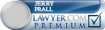 Jerry Edward Prall  Lawyer Badge